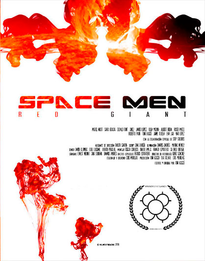 SPACE MEN Temporada 2: RED GIANT